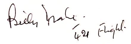 Autograph of Billy Drake