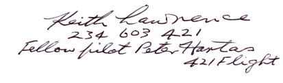 Autograph of Keith Lawrence