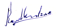 Autograph of Roger Morewood